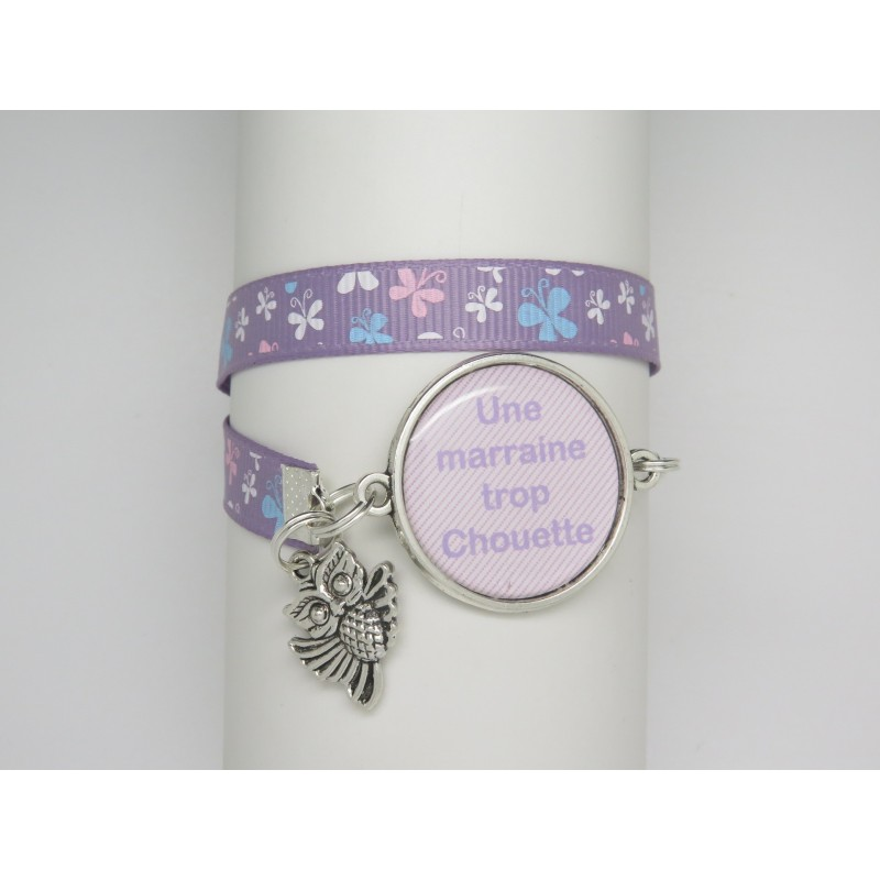 bracelet personnalisable avec cabochon cadeau pour une marraine. Black Bedroom Furniture Sets. Home Design Ideas