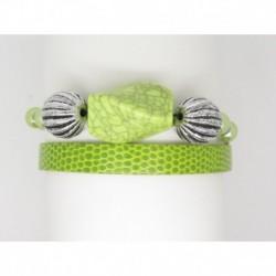 Bracelet femme personnalisable F de Bm créations