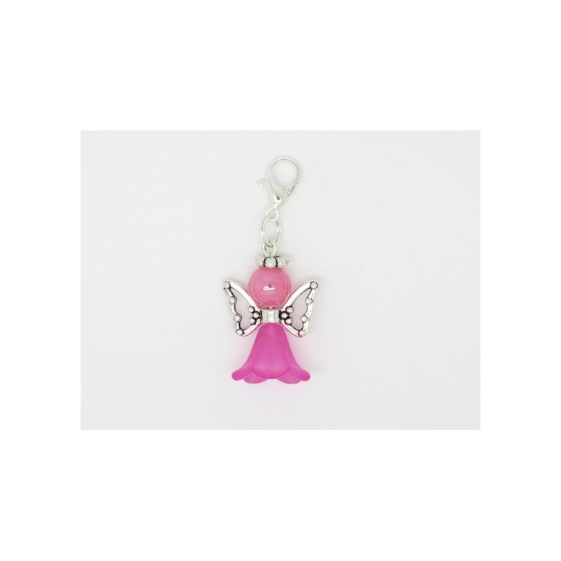breloque pour bola de grossesse ange ou pour mettre sur un bracelet  un collier un porte cles f