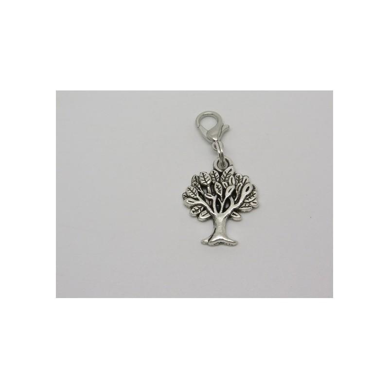 breloque pour bola de grossesse ou pour mettre sur un bracelet  un collier un porte cles   arbre